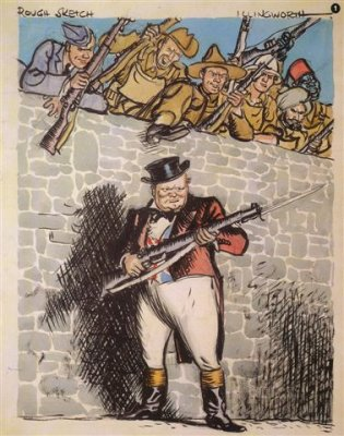 Churchill as John Bull