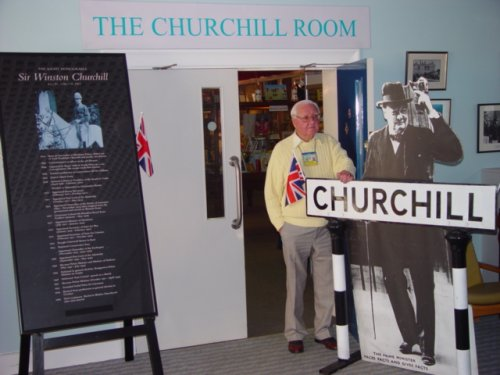 Churchill Room at Bletchley Mansion