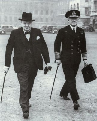 Churchill and Pound